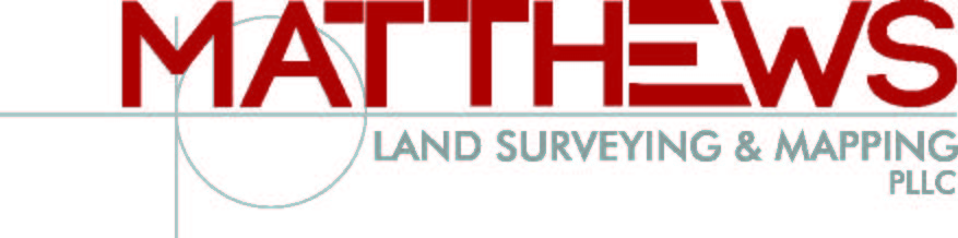 Matthews Land surveying and Mapping, PLLC Logo